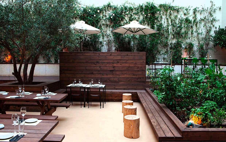 ландшафтный дизайн для ресторанов