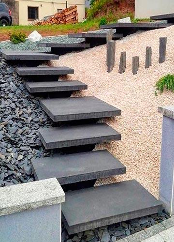 Лестницы в ландшафте